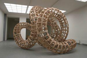 Tomas Medek, Tangle/Untangle, objekt, překližka