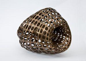 Tomas Medek , Kapsule, bronz, socha, objekt